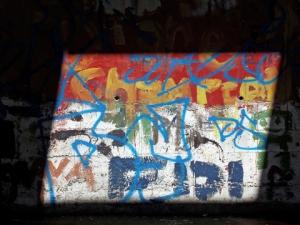 Sunlit wall (07 Apr 10)