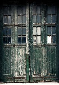 Old green door (from Daily Dose of Imagery)