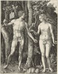 Adam and Eve, by Albrecht Durer, 1504