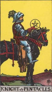 Knight of Pentacles (Rider-Waite version)