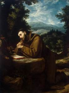 St Francis of Assisi, by Cigoli (painted 1597-99)
