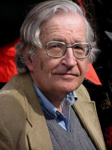 Noam Chomsky, photgraphed in Vancouver, Canada (2004) by Duncan Rawlinson
