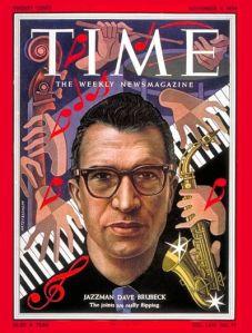 Time magazine cover: Dave Brubeck, November 1954