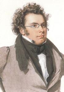 Franz Schubert (31 Jan 1797 – 19 Nov 1828)