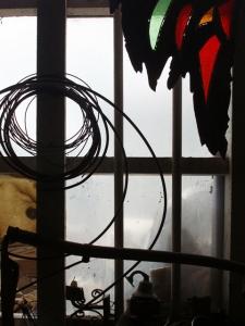 workshop window (11 January 2009)
