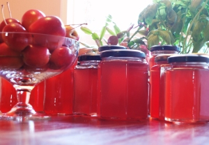 crab-apple jelly (07 June 2013)