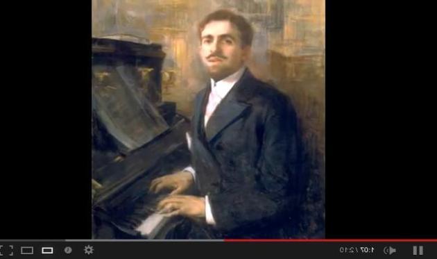 Reynaldo Hahn (YouTube image)